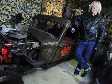 Marty Robbins' old car sparks 'rat rod' hobby