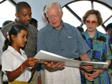 Jimmy Carter signs books Thursday in Nashville