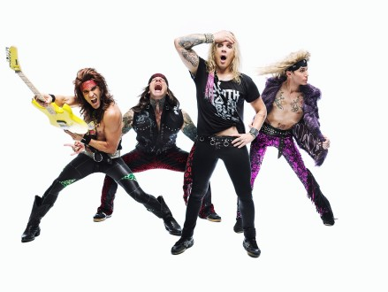 Steel Panther promises hair-raising spectacle